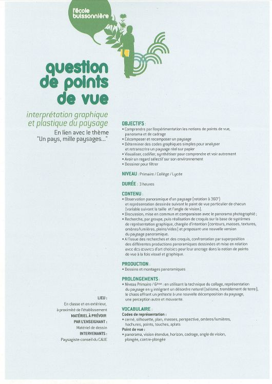EB FA question de points de vue